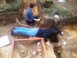 Vor dem Baumfällen noch diese Rettungsaktion von Robert für...