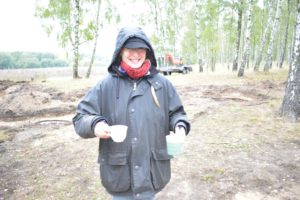 Kaffee! Anne hat uns heute bestens mit heißen Getränken versorgt. Obwohl, die beiden kalten waren auch nicht schlecht - oder ;)?