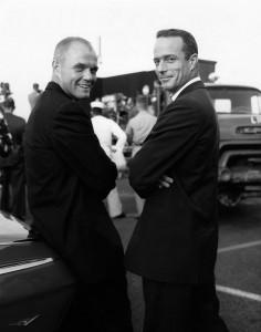 Bild 1 - Glenn und Carpenter vor Mission