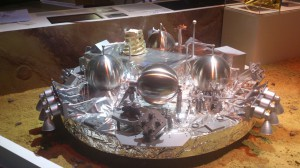 Der Lander der europäischen ExoMars 2016-Raumsonde