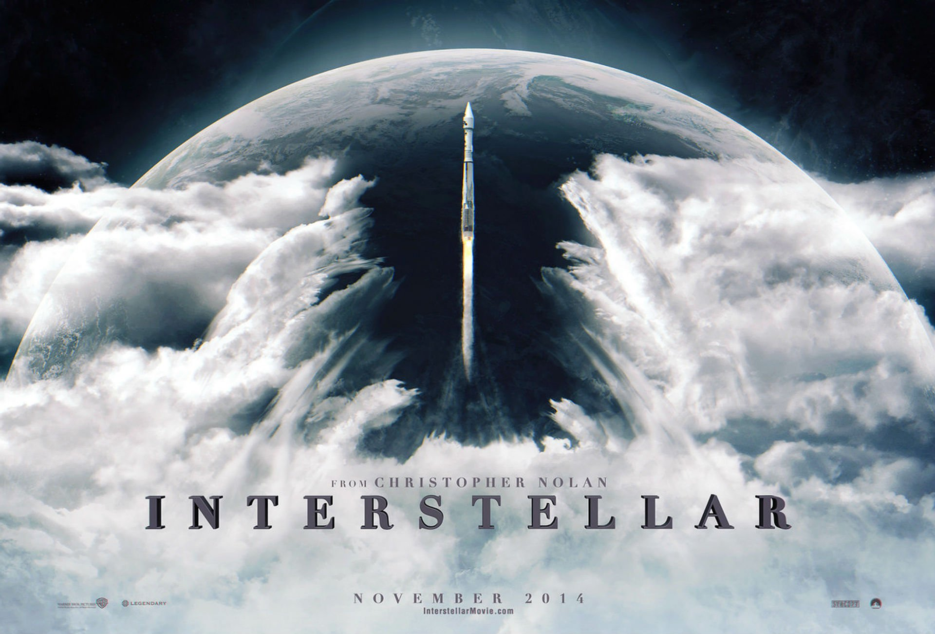 Das Plakat zeigt eine Atlas 5 401. Eine Rakete, die im Film gar nicht vorkommt, aber in unserer Realität schon.