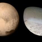 Pluto und Triton