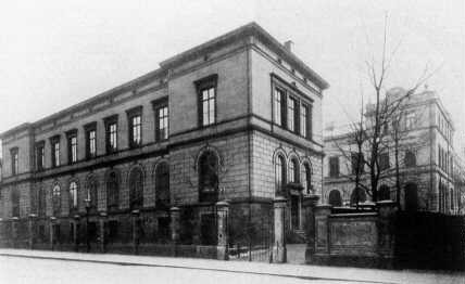 Für Carl Ludwig erbaute Physiologische Institut in Leipzig