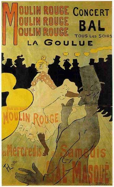 Toulouse-Lautrec: La Goulue