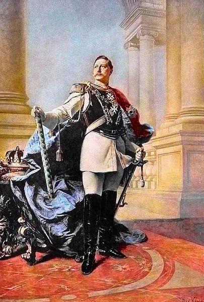 Kaiser Wilhelm II - Kohner