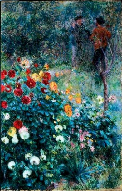 Renoir - Jardin de la Rue Cortot