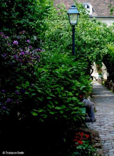 Garten in der Rue Cortot