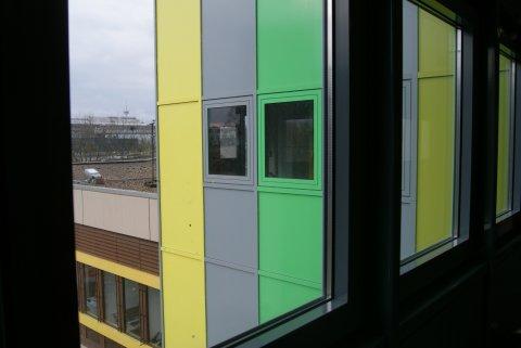 Bunter Campus Essen.