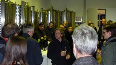 Weinprobe im Weingut Michael Andres