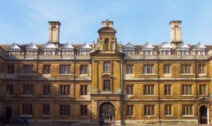Clare College, Cambridge, UK