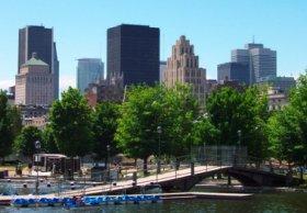 Blick auf Montréal