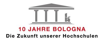 Das Logo des Bologna-Bloggewitters 2009!