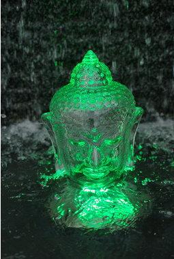Grüner Budda, von Mona