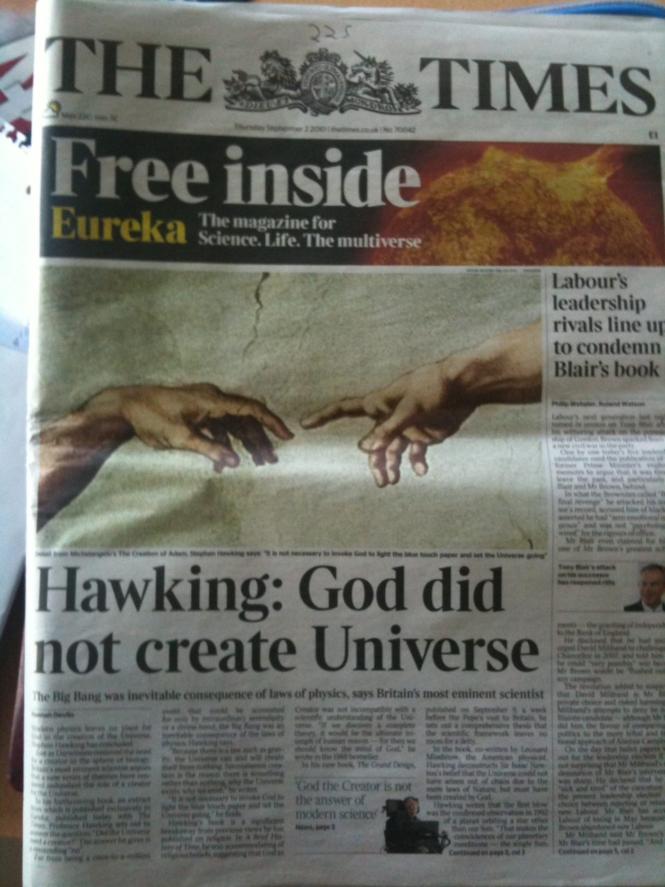 "... ""Refutation"" - Proof that God Exists (Sye Ten Bruggencate) - Refuted"