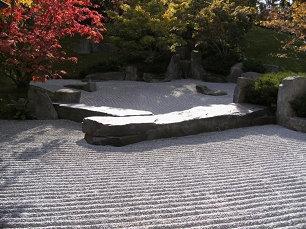 Zen-Garten, von Mona