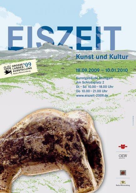 Eiszeit Ausstellung in Stuttgart, 2009