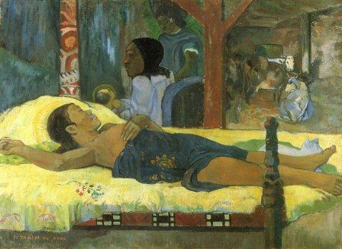 Paul Gauguin Geburt Christi