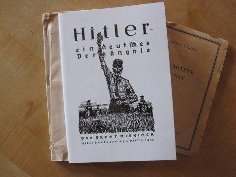 A Paul Weber Hitler Verhangnis Niekisch
