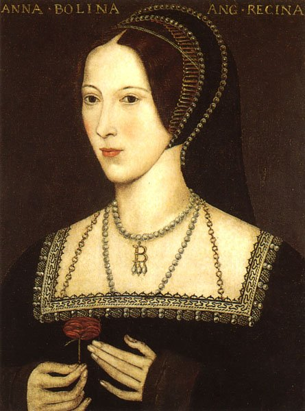 Anne Boleyn via Wikimedia Commons
