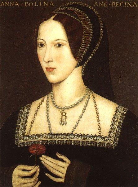 Anne Boleyn via Wikimedia Commons