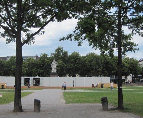 Beuys 7000 Eichen Kassel documenta