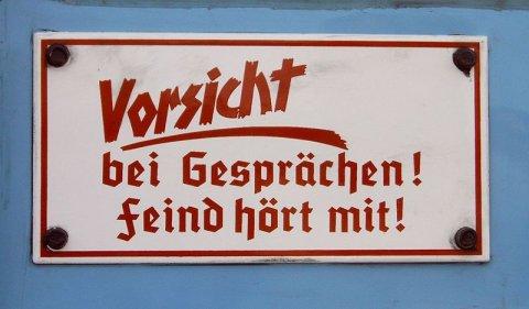 Feind hört mit - Nazipropaganda - zu A. Paul Weber Denunziant