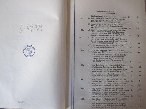 Doktorarbeit von Helmut Kohl Dissertation