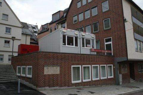 Ulm Schadsches Haus Neue Strasse Ulm Schadsches Haus Neue Strasse Wallensteingedenktafel