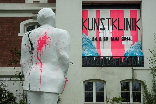 Kunstklinik im ehemaligen Klinikum Bethanien in Hamburg-Eppendorf