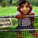Bitte nicht den Troll füttern - Don't feed the troll
