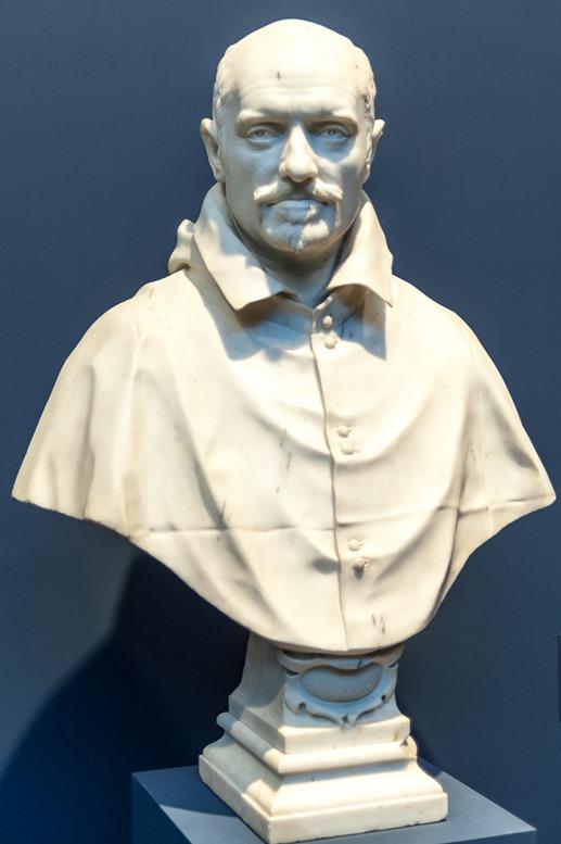 Büste Alessandro Peretti di Montalto von Gian Lorenzo Bernini