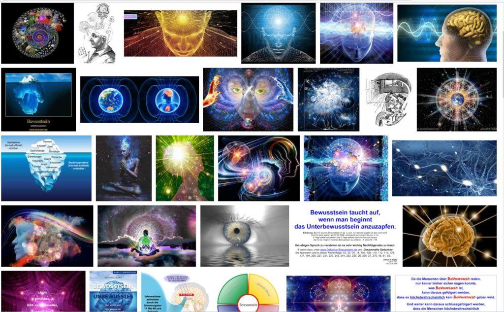 """Google-Bildersuche, Suchwort """"Bewusstsein"""""""