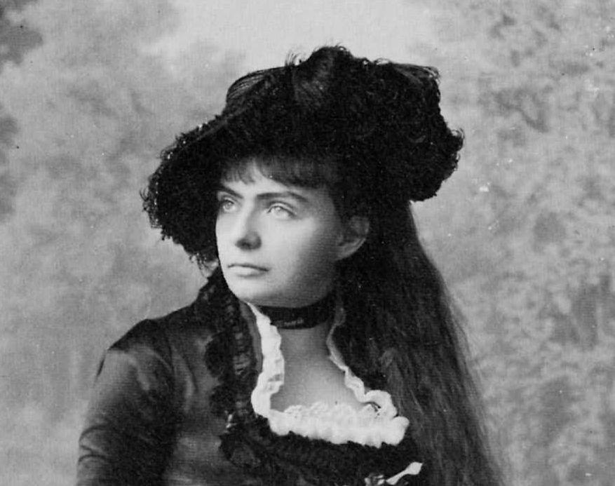 Gebrueder Alinari Portrait einer Dame 1882 Ausschnitt