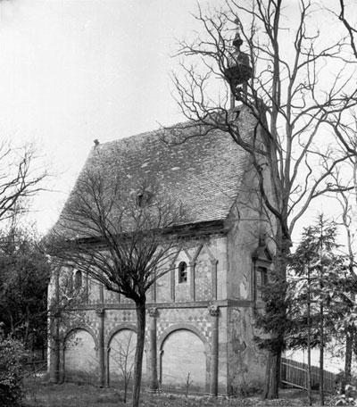 Königshalle Lorsch um 1900