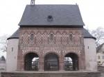 Karolingische Torhalle in Lorsch von Westen