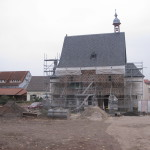 UNESCO-Welterbe Königshalle Lorsch, Bauarbeiten 2013