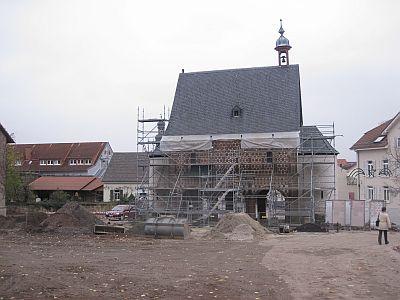 Torhalle Kloster Lorsch November 2013 von Osten klein