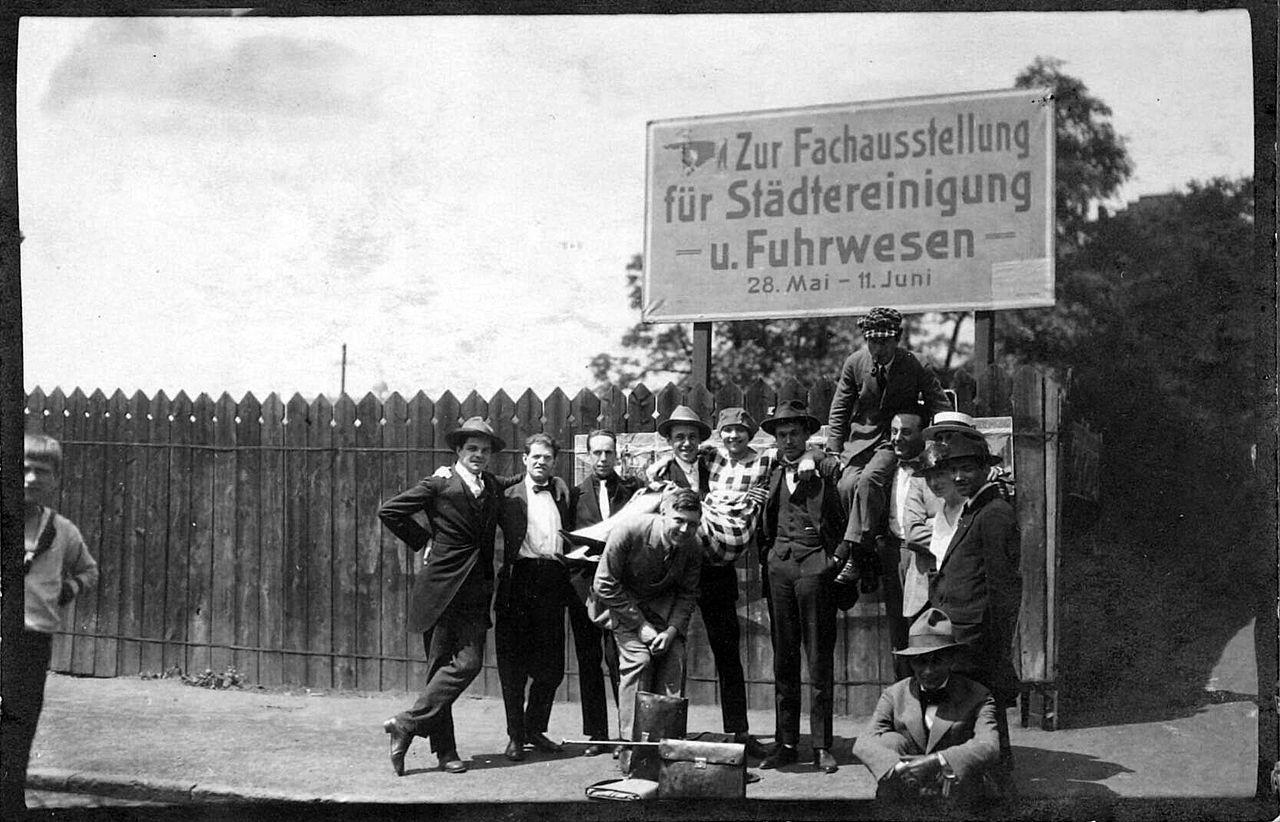 Erster Internationaler Kongress fortschrittlicher Künstler, Mai 1922