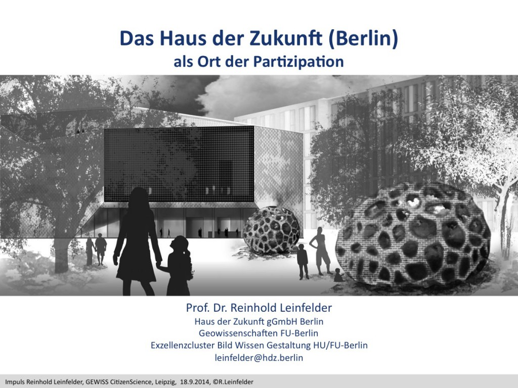 Abb. 1: Haus der Zukunft Berlin