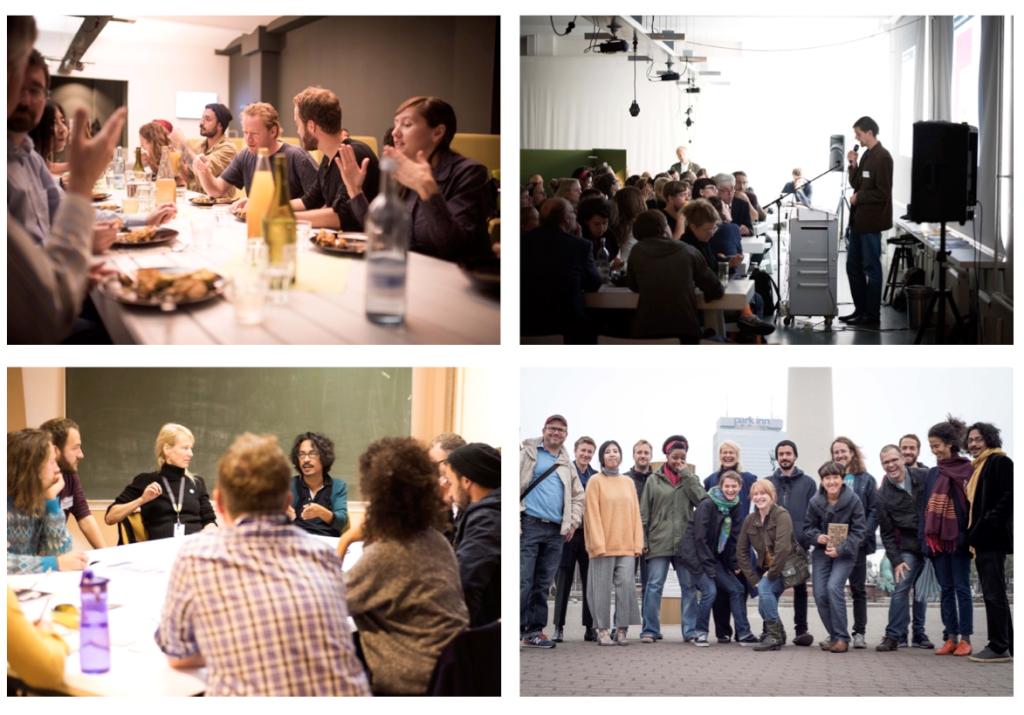 Das Ernährungs-Fachsymposium und der Künstlerworkshop am Exzellenzcluster BildWissenGestaltung im Herbst 2015