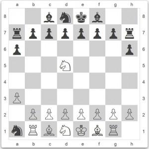 Wladimir Alexandrowitsch Korolkow, Schach 1957