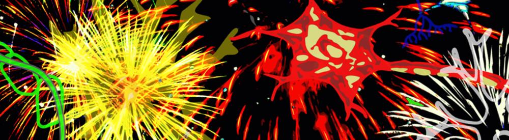 Feuerwerk der Neuronen