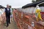 In einem Ebola Treatment Center. Bild: European Commission DG ECHO CC BY-ND 2.0