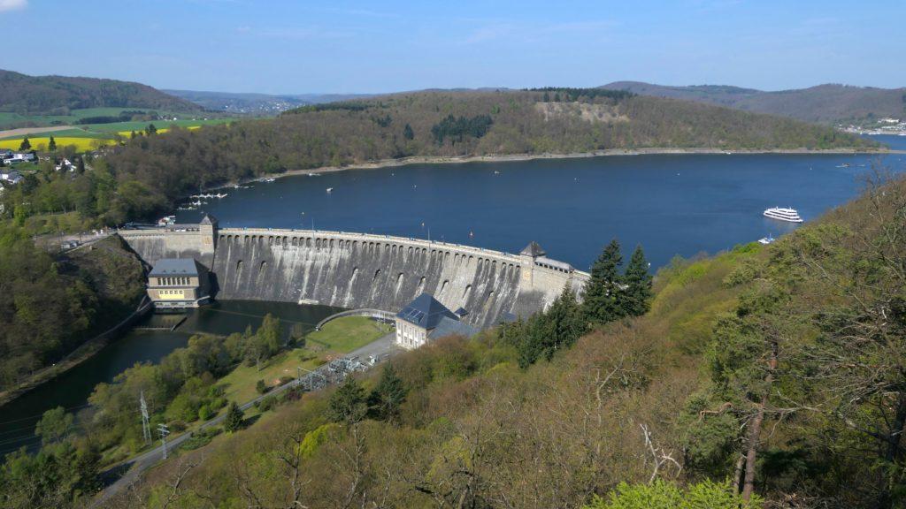 Auch in Deutschland gibt es eine ganze Reihe Staudämme.