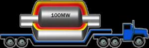 Abb. 1: Das Bild stammt aus einem Vortrag von Lockheed Martin vom letzten Jahr (https://www.youtube.com/watch?v=JAsRFVbcyUY) und soll die Größe von ihrem Reaktor veranschaulichen.