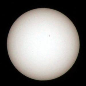 Sonne mit Merkur