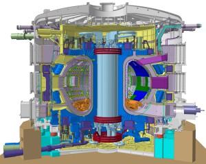 ITER, technische Zeichnung