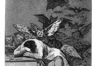 Der Schlaf der Vernunft.