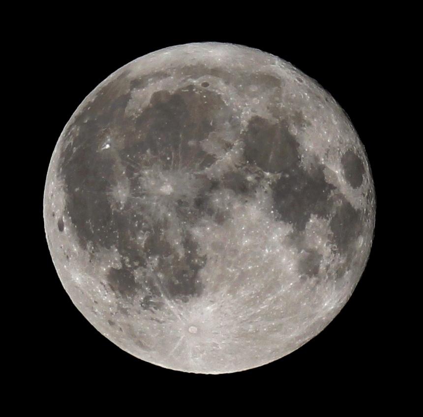 Mondstand Heute Nacht