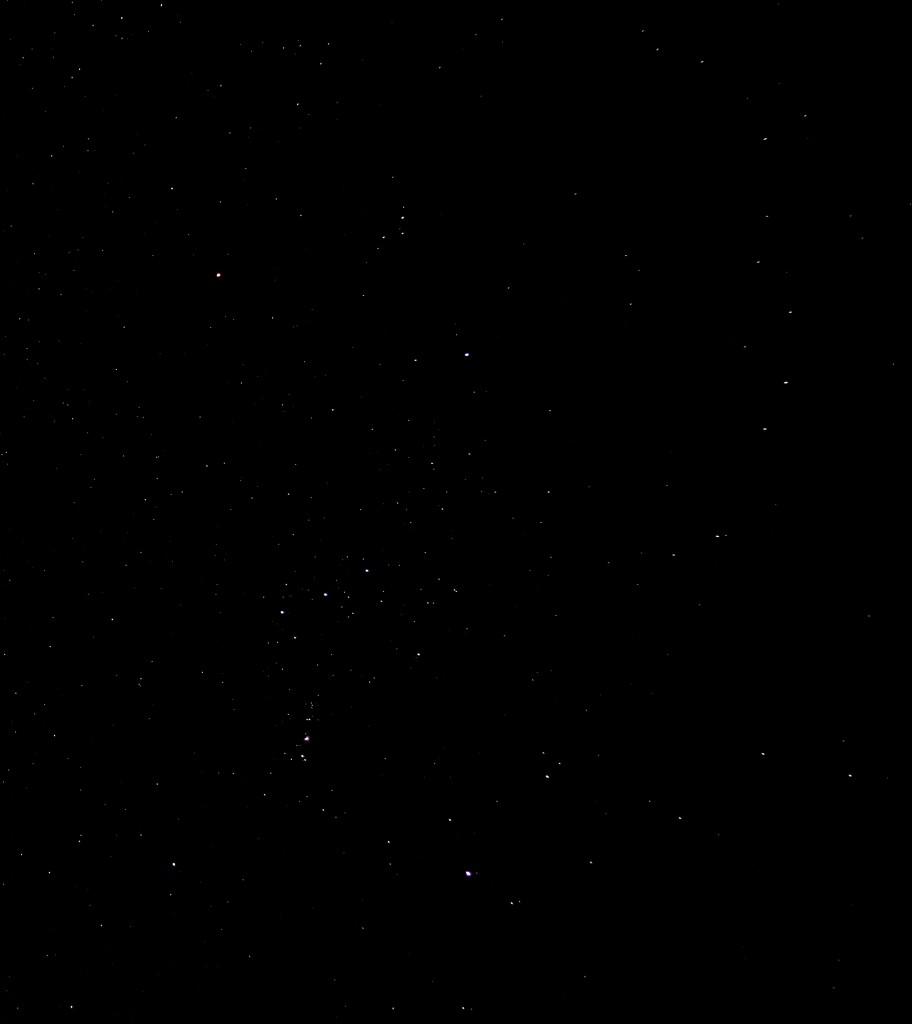 Orion am 5.2.2015 um 22:54 MEZ, Canon EOS 600D, Leica Elmarit 24, f/2.8, ISO 1600, 4 Sekunden